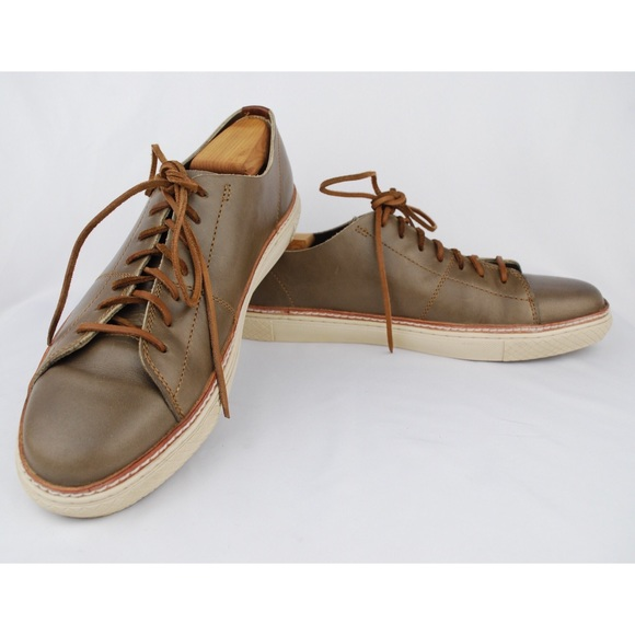 Frye Shoes | Mens Taupe Leather Gates